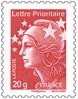 lettre timbre classique