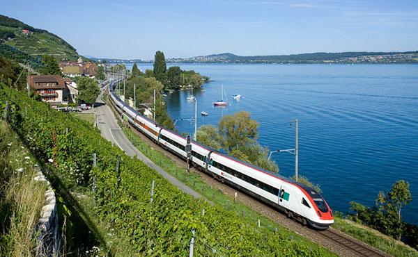 Train suisse ICN
