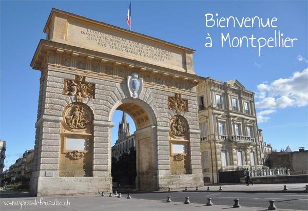 Montpellier arc-de-triomphe