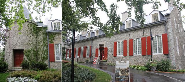 Le Chateau Ramezay à Montréal