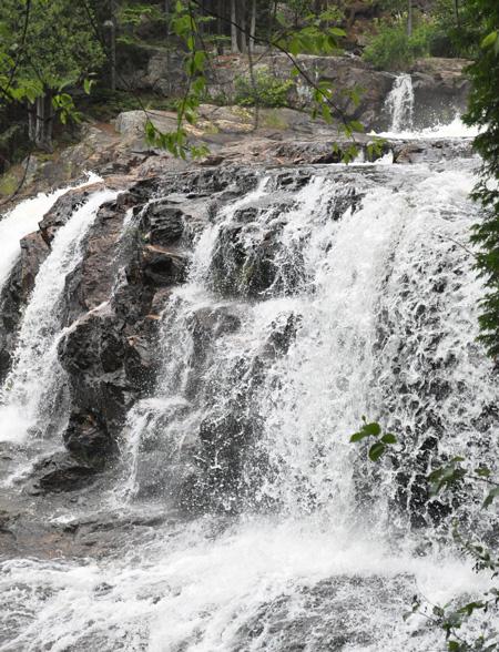 Une des plus hautes chutes du Québec