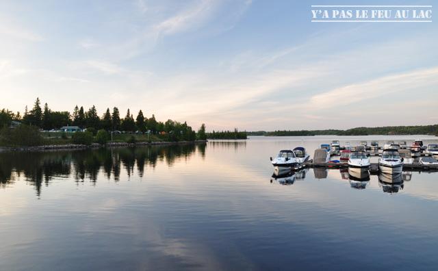 Dam en Terre Lac Saint Jean