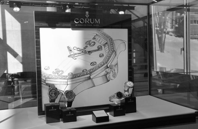 Visite manufacture de montres Corum