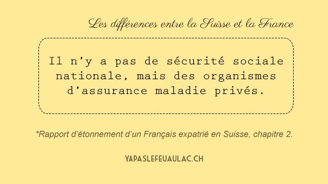 Differences entre la Suisse et la France notes par un expatrie francais (1)