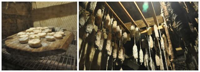 A la Borie - pelardons et saucissons