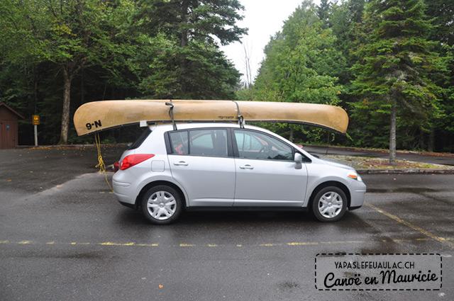 Canoe dans le parc de la Mauricie - Québec