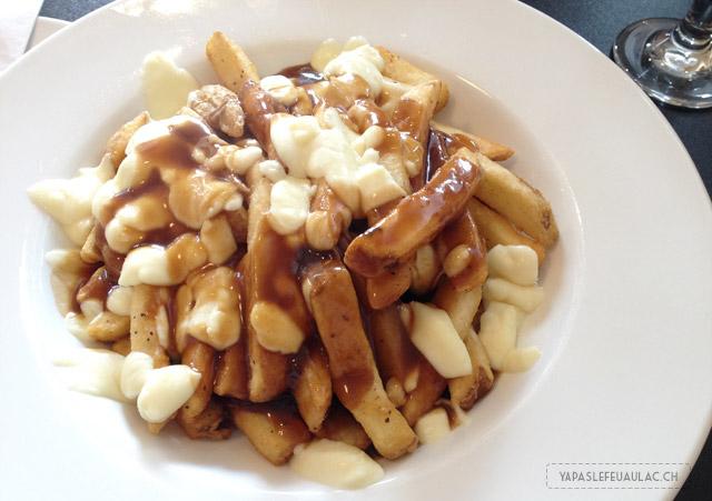 Poutine de Luxe dégustée au Québec