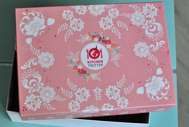La box Kitchen Trotter, édition russe