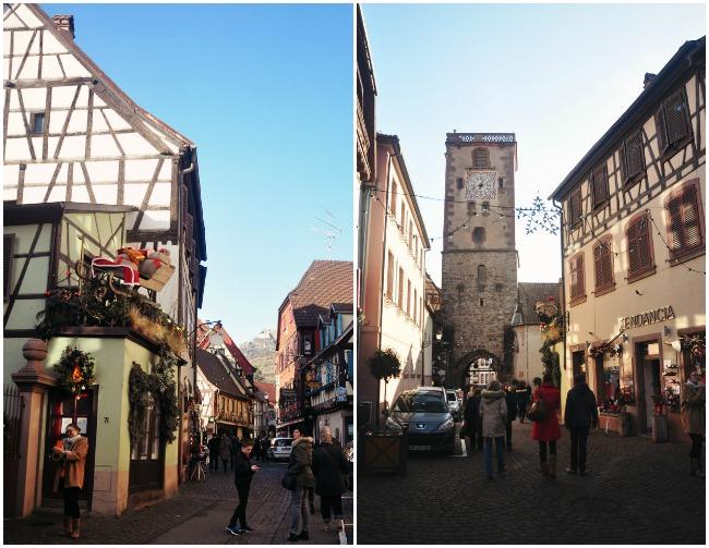 Colombages et jolis villages