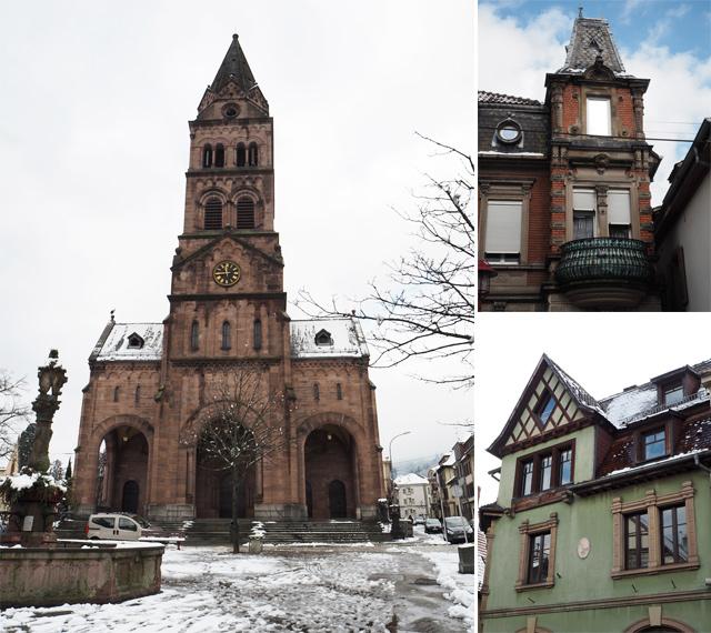 Eglise en grès de Munster