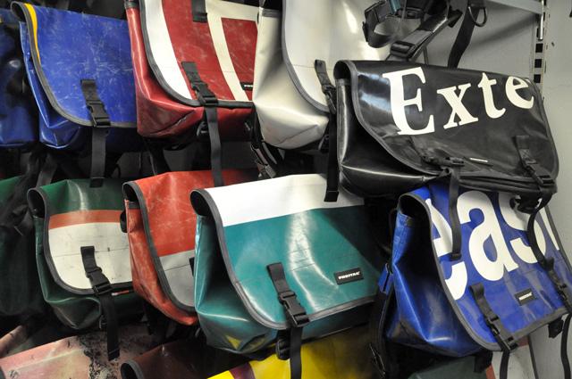 Culte en Suisse: les sacs Freitag !