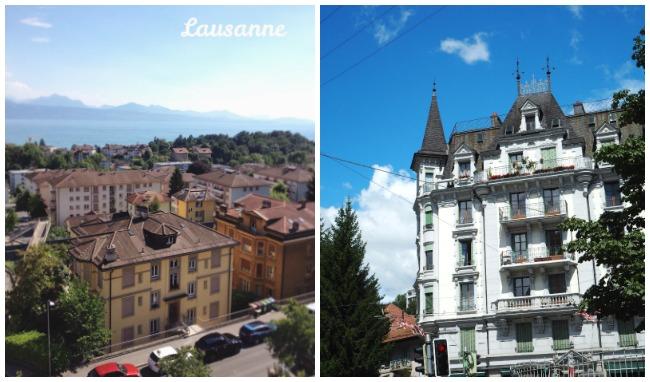 Vues de Lausanne
