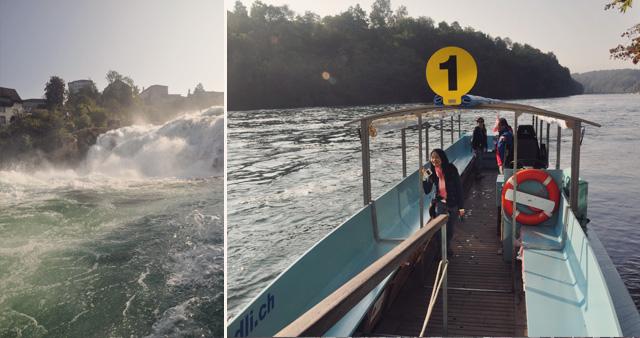 chutes du rhin - escapade en Suisse sur le blog voyage Yapaslefeuaulac