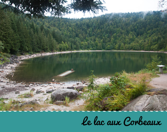 Le lac des Corbeaux à la Bresse - Balade dans les Vosges