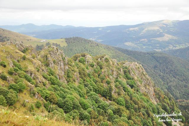 Rando dans les Vosges sur le Kastelberg