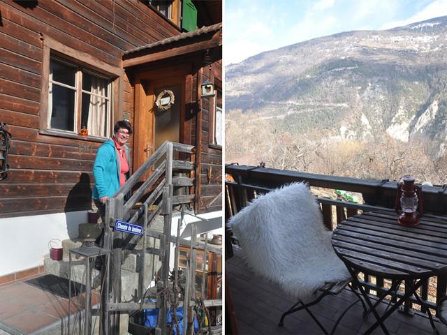 Le chalet Chambre d'hôte le Rucher à Vex en Valais
