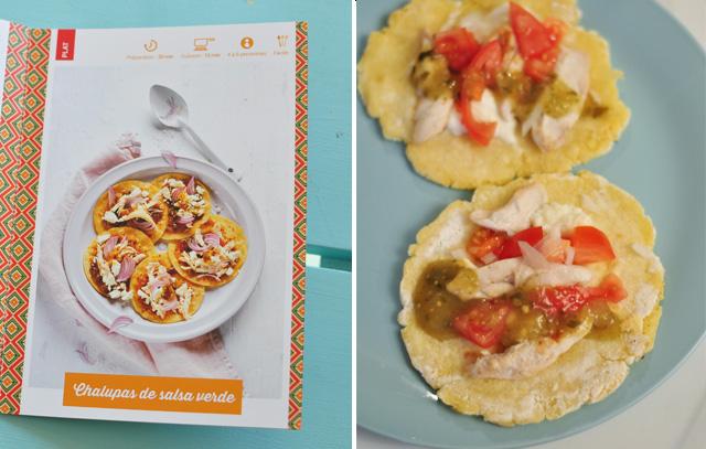Recette mexicaine avec le kit de cuisine du monde Kitchentrotter