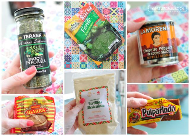 Les ingrédients pour cuisiner mexicain! - Mon avis sur la box Kitchentrotter - le kit de cuisine qui fait voyager!