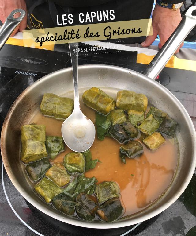 Les capuns: une spécialité du terroir suisse des Grisons - Terroir suisse sur le blog Yapaslefeuaulac.ch