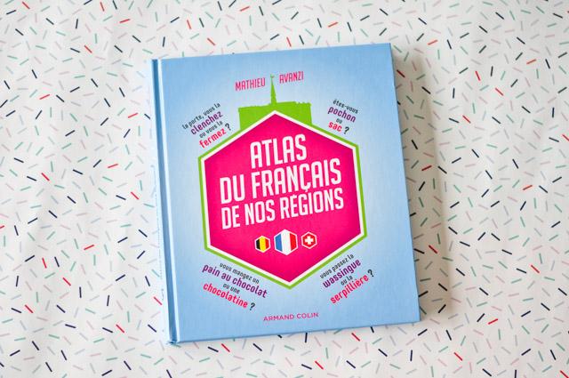 Livre de linguiste sur les mots régionaux de France, Suisse et Belgique