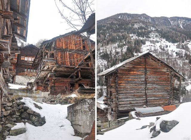 Les chalets de Mâchette - que voir au Val d'Hérens en Valais / Voyage en Suisse sur le blog YPFL