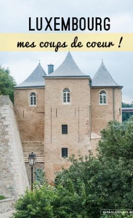 Une journée dans la ville de Luxembourg