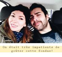 Nous en Valais - Sur la route pour aller goûter cette fondue!
