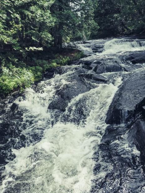 Les chutes Waber au Québec