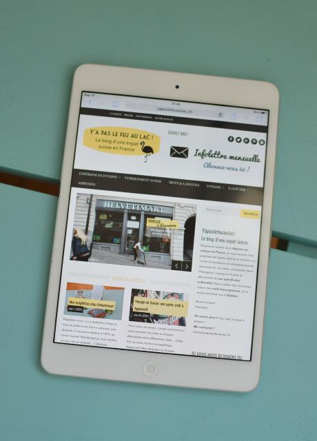 Le blog suisse Yapaslefeuaulac - tablette