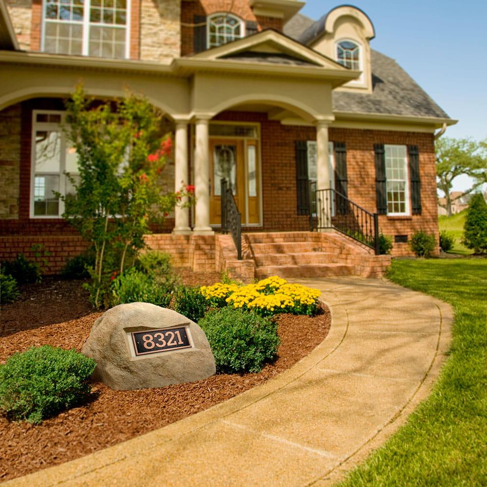 address rock tan gray - yard