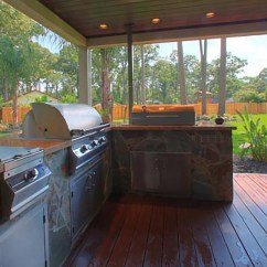 Patio Kitchen Formica Countertops Cost Outdoor Kitchens Yardbirds Landscaping Extreme Luxury Kingwood Tx