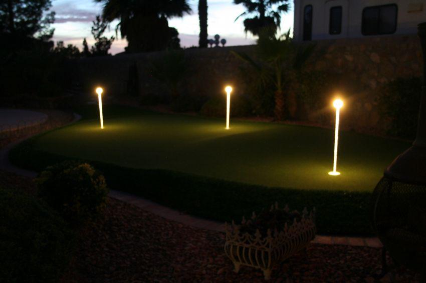 Putting Green Lights 3 Pack  YardBright Landscape