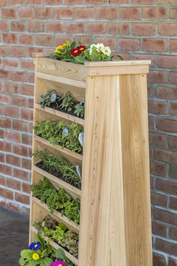 vertical garden planter - yardcraft