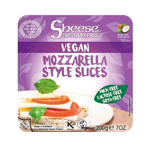 Mozarella style sheese tranche