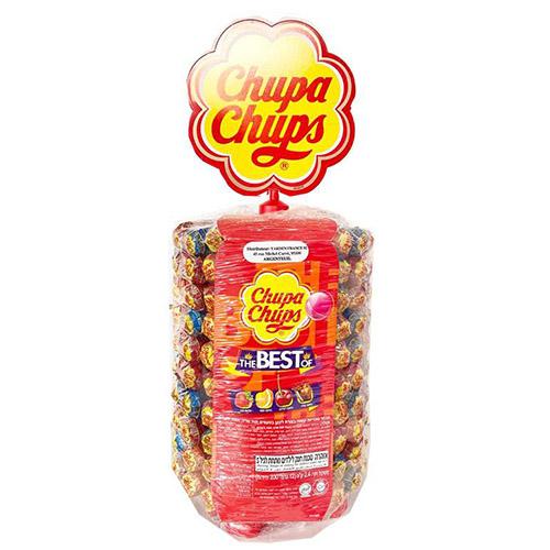 Présentoir 200 sucettes lollipops chupa chups