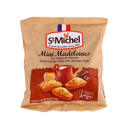 MINI MADELEINES SAINT MICHEL AUX PEPITES DE CHOCOLAT