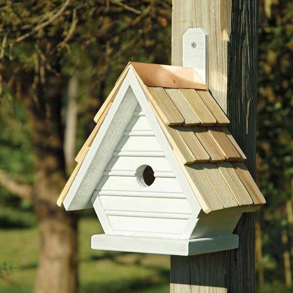 Chick PostTree Bird House  Yard Envy