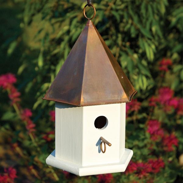 Copper Top Bird Houses  Yard Envy