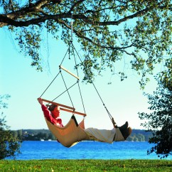 Hanging Tree Swing Chair Upholstered Scoop Back Dining Chairs How To Hang A Hammock Yard Envy