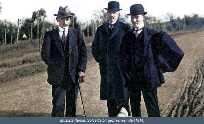 Atatürk sofyada ataşemiliter ile ilgili görsel sonucu