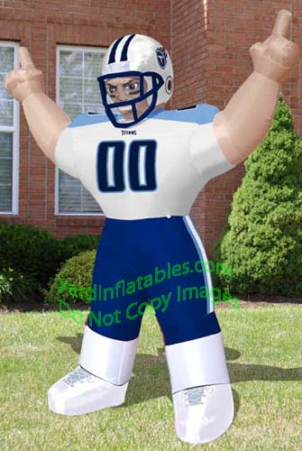 Airblown Inflatable Images Tennessee Titans 8' Tiny