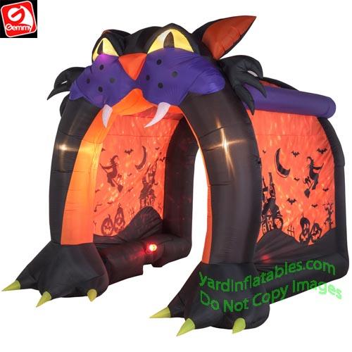 Gemmy Airblown Inflatable 9 Swirling Kaleidoscope
