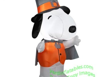 Snoopy Christmas Blow Molds Yard Decorations