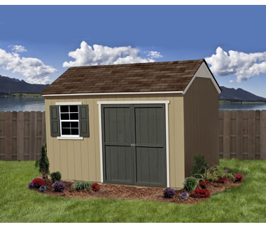 128 Shed with Extra Overhead Storage Space  Burlington