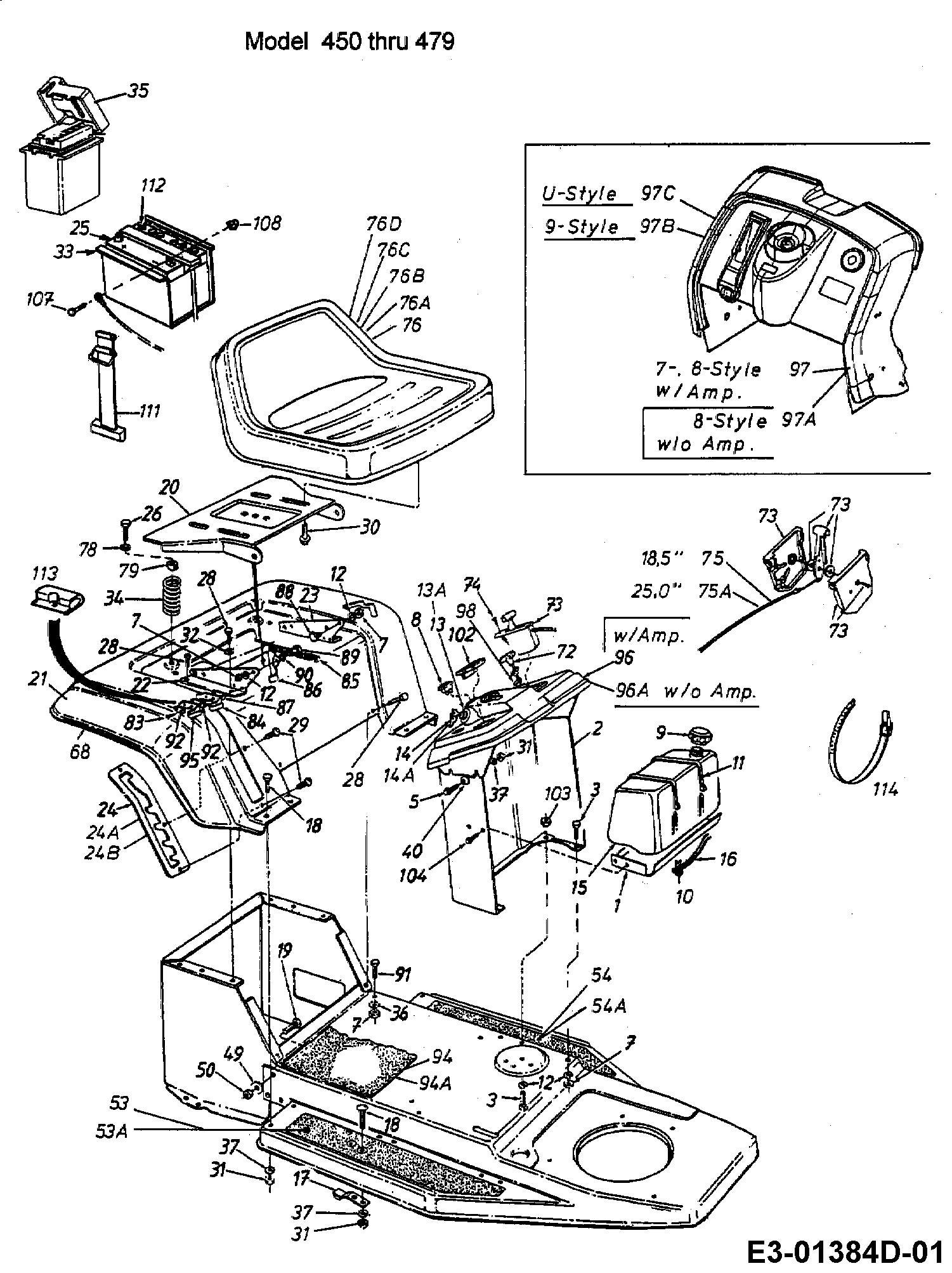 mtd yardman wiring diagram 2006 kia sorento mtd008073 13ap473a643 1998 lawn tractors