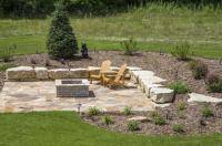 A New Fire Pit Brings Life to an Empty Backyard ...