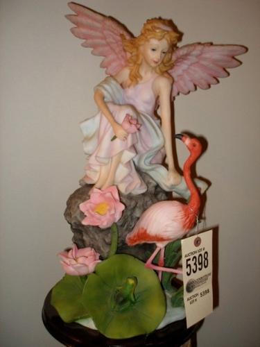 Fairy and Flamingo