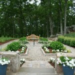 ornamental garden Roxbury CT