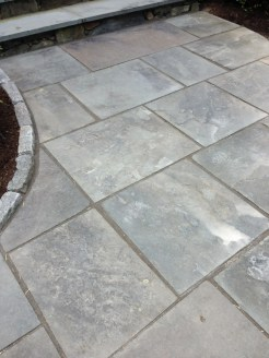 Bluestone walk with Polymeric sand joints