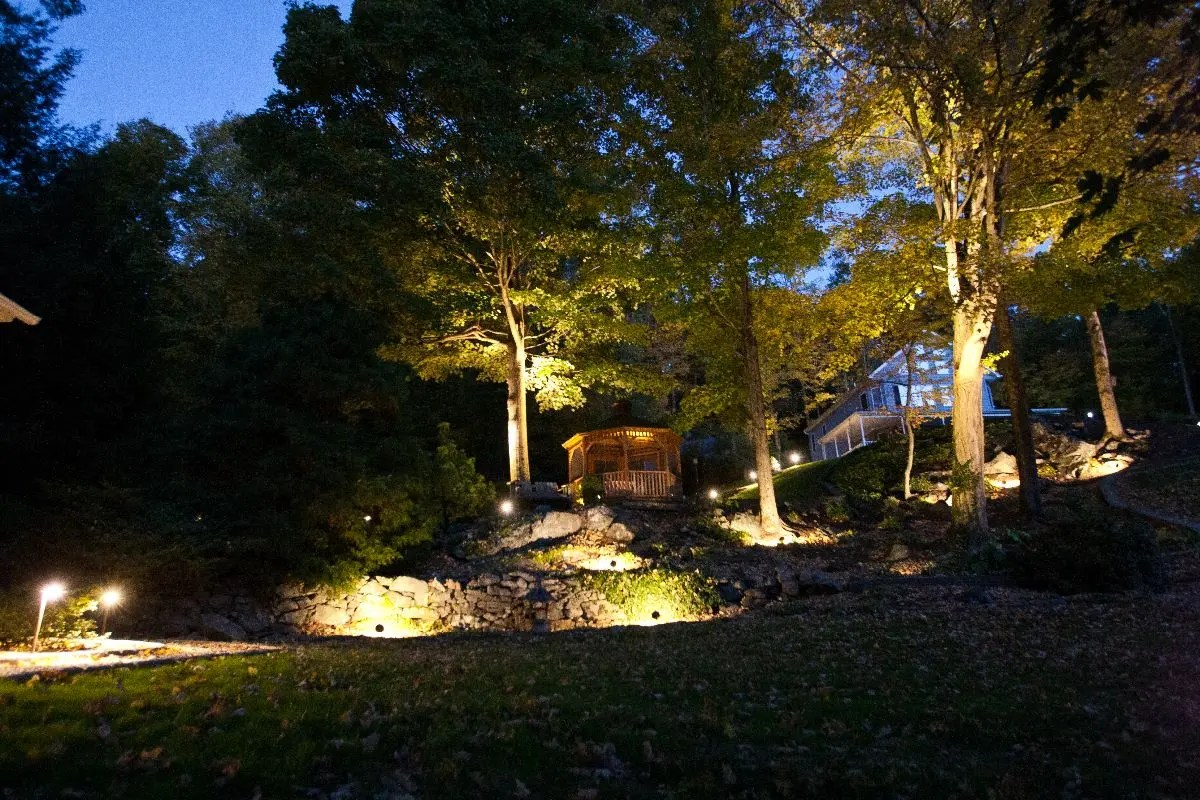 outdoor lighting Bridgewater CT